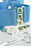 Nursing eqipment. Various pieces of medical equipment royalty free stock images