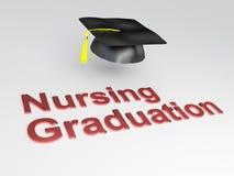 Nursing Graduation concept Royalty Free Stock Photo