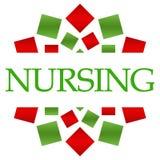 Nursing Green Red Circular
