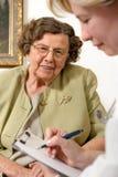 Nursing home Stock Image