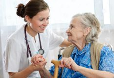 Nursing home stock image