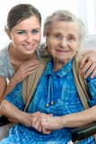 Nursing home stock images
