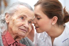 Nursing home Royalty Free Stock Photos