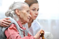 Nursing home Royalty Free Stock Photos