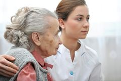 Nursing home Royalty Free Stock Photography