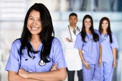 Nursing School Graduate. Woman who is graduating from nursing school Stock Photography