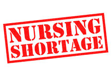 NURSING SHORTAGE Royalty Free Stock Photography