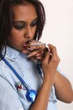 Nursing stress Stock Images
