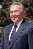 Nursultan Nazarbaev Fotografia Stock