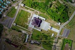 Nurul Bilad Aerial View images stock