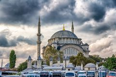 Nuruosmaniye Mosque Royalty Free Stock Photo