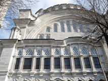 Nuruosmaniye Mosque in Istanbul is a light mosque of the house Osman Stock Image