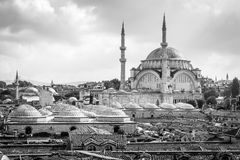 Nuruosmaniye Mosque in Istanbul, Turkey Stock Photography