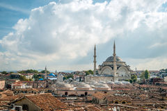 Nuruosmaniye Mosque in Istanbul, Turkey Royalty Free Stock Photography