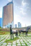 Nurzhol Boulevard Royalty Free Stock Image