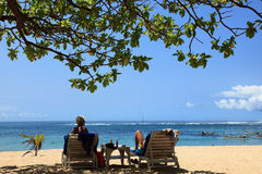 Nusa Dua Beach Royalty Free Stock Image