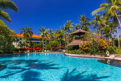 Nusa Dua resort in Bali Indonesia Royalty Free Stock Photo
