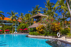 Nusa Dua resort in Bali Indonesia Royalty Free Stock Image