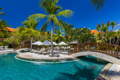 Nusa Dua resort in Bali Indonesia Royalty Free Stock Images