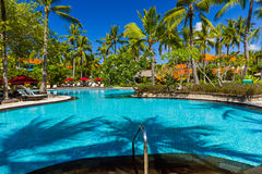 Nusa Dua resort in Bali Indonesia Royalty Free Stock Photography