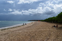 Nusa Dua-strand Royaltyfria Foton