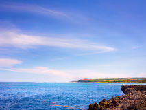 Nusa-DUA-Strand, Bali Stockfotos