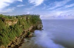 Nusa Dua Uluwatu met mooie klippen en stranden in Bali, Indo stock afbeeldingen