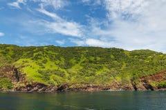 Nusa Kode, ландшафт Komodo Стоковая Фотография RF