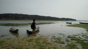 Nusa lembongan island in bali stock photo