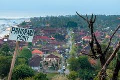 Nusa Lembongan Island Panorama Point Royalty Free Stock Images