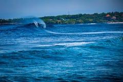 Nusa Lembongan Surf Spot stock image