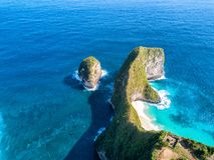 Nusa Penida lizenzfreies stockfoto