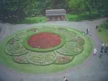 Nusantara Flower Garden royalty free stock image