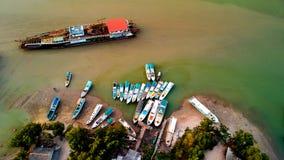 Nusantara port obrazy royalty free