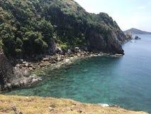 Nusapanida wyspa Zdjęcia Stock