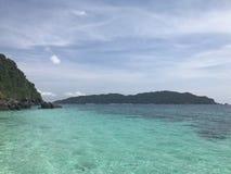 Nusapanida wyspa Zdjęcia Royalty Free