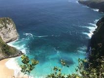 Nusapanida wyspa Zdjęcie Stock