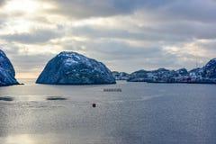 Nusfjord, Lofoten Islands, Norway Royalty Free Stock Photos