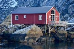 Nusfjord, Lofoten Islands, Norway Stock Photo