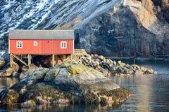 Nusfjord, Lofoten Islands, Norway Stock Photos