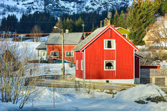 Nusfjord, Lofoten Islands, Norway Stock Photos