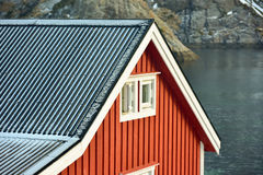 Nusfjord, Lofoten Islands, Norway Stock Image