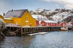 Nusfjord, Lofoten, Norway Royalty Free Stock Image