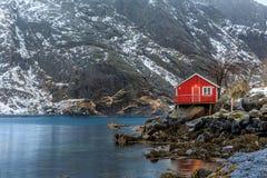 Nusfjord Royalty Free Stock Photo