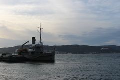 Nusret mine ship royalty free stock photo