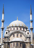 Nusretiye Mosque. Is an ornate mosque located in Tophane district of Beyoglu, Istanbul, Turkey royalty free stock photos