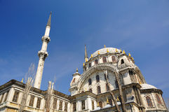 Nusretiye Mosque. Is an ornate mosque located in Tophane district of Beyoglu, Istanbul, Turkey stock photography