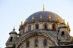 Nusretiye Mosque in Karakoy, Istanbul, Turkey. Historical Ottoman Nusretiye Mosque in Karakoy, Istanbul, Turkey Royalty Free Stock Photo