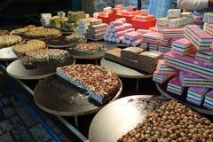 Nuss-Festlichkeiten in Akko, Israel Stockfotos