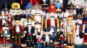 Nussknacker-Ansammlung lizenzfreie stockbilder